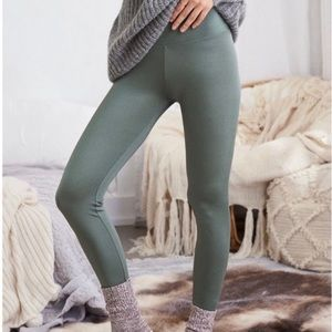 Aerie Chill Play Move Shiny High Rise Leggings XXL